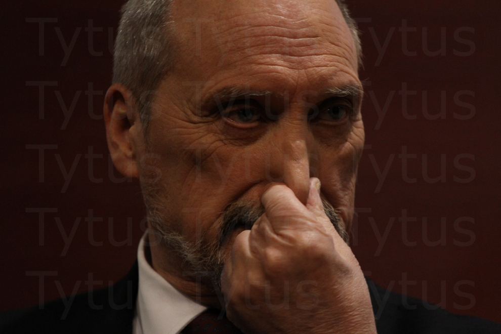 Antoni Macierewicz - Polish Minister of Defence