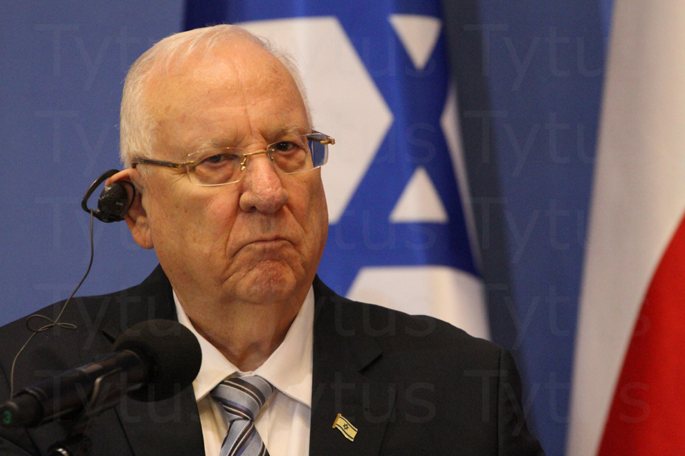 Re'uwen Riwlin - President of Israel