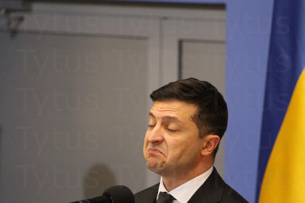 Wołodymyr Zełenski - President of Ukraine